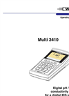 Multi 3410 - Digital Multiparameter Meters – Manual