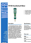 PH100 - Handheld pH Meters – Brochure