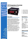378 - Temperature Controller – Brochure