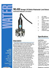 WL430 - Sewage Lift Station Wastewater Level Sensor – Brochure