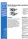 WL705 - Ultrasonic Water Level Sensor – Brochure