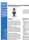 WL750 - Ultrasonic Level Transmitters – Brochure