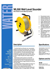 WL500 - Water Level Sounder – Brochure