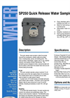 SP250 - Quick Release Water Sampler - Brochure
