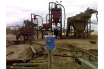 Doppler flow meter for frac sand slurry flow monitoring