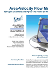 AVFM 5.0 - Area-Velocity Flow Monitor – Brochure