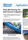 Flow Monitoring for Golf Course Irrigation Brochure