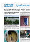 Lagoon Discharge Flow Monitoring Application Brochure