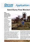 Sand Slurry Flow Monitoring Application Brochure