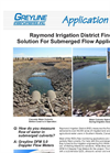 Solution for Irrigation Water Flow Monitoring in Submerged Culverts Application Brochure