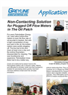 Non-Contacting Solution for Plugged Off Flow Meters in The Oil Patch Application Brochure