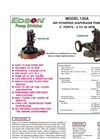 Edson - Model 120A - Air Powered Diaphragm Pump Brochure