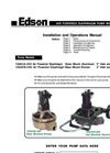 Edson - Model 120A - Air Powered Diaphragm Pump Manual