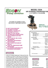 Edson - Model 220A - Air Powered Diaphragm Pump Brochure