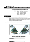 Edson - Model 120E - Electric Powered Diaphragm Pump Manual