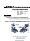 Edson - Model 120G - Gasoline Powered Diaphragm Pump Manual