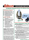 Edson - 284EB-40 - Diaphragm Pump Out System Brochure