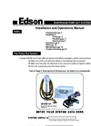 Edson - 284EB-40 - Diaphragm Pump Out System Manual