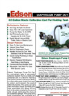 Edson - Model 285-18 - 25 Gallon Waste Collection Cart For Holding Tank Pump Outs Brochure