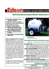 Edson - 290-235 - Portable Vacuum For Self Contained Liquid Waste Collection Units Brochure