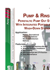 Pump & Rinse Peristaltic Pump Out Station With Integrated Portable Toilet Wash-Down Station Brochure