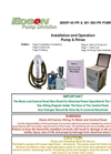 286EP-40-PR & 281-300-PR Pump & Rinse Manual