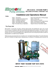 290-10-2210 Vacuum Pump Out System Manual