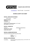 Chemtex - Model OIL046 - Floor-Dry Diatomacious Earth Oil Absorbent Brochure