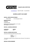 Oil Only Polypropylene Sorbents MSDS