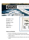 CHEMTEX - Model OIL051 - Perlite Absorbent Granulars - Data Sheet