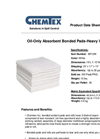 CHEMTEX - Bonded Meltblown Pads & Rolls Brochure