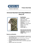 CHEMTEX - Model OILM6012 - Army Matting - Datasheet