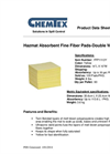 CHEMTEX - Fine Fiber Meltblown Hazmat Absorbents Brochure