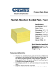 CHEMTEX - Bonded Meltblown Hazmat Absorbents Brochure