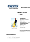 CHEMTEX - Pop Up Pool Canvas Carrying Case Brochure