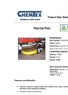econo - Model OILM7320 - Pop Up Pool Containment Brochure