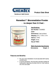 Remediact - Model OILM9023 - 5 Gallon Dry Bioremediation Powder Container Brochure