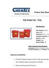 Chemtex - Oily Waste Cans Brochure