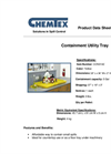 Chemtex - Model CON0142 - Containment Utility Tray Brochure