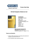 Chemtex - Model CON0160 - 65 Gal Poly Overpacks W/ Screw On Lid Brochure