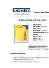 Chemtex - Model CON0154 - 30 Gal Lab Pack W/ Screw On Lid Brochure