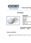 CHEMTEX - Disposable Dust Masks Brochure