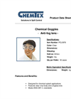 CHEMTEX - Model PCL0978 - Chemical Googles Brochure