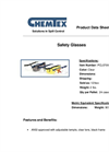 Chemtex - Model PCL0709 - Safety Glasses Brochure