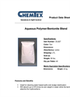 Chemtex - Model OIL927 - Aqueous Polymer/Bentonite Blend Brochure