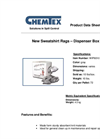 CHEMTEX - Center Pull Dispenser Box of Rags Brochure