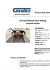 Chemtex - Model OILM5997 - Railroad Track Mat Brochure