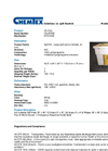 Chemtex - Model OILM7092 - Large Spill Cart On Wheels , Oil Only - Brochure