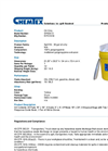 Chemtex - Model OILM7054 - 30 Gal Oil Only Spill Kit - Brochure