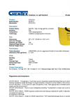 Chemtex - Model SKYB-U - High Viz Bag Spill Kit, Universal - Brochure